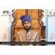 S H A H I T A J Traditional Rajasthani Wedding Barati Blue Cotton Lehariya Udaipuri & Rajputi Pagdi Safa or Turban for Kids and Adults (CT168)-ST248_22andHalf-sm