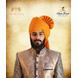 S H A H I T A J Traditional Rajasthani Wedding Barati Aamras Cotton Lehariya Jodhpuri & Rajputi Pagdi Safa or Turban for Kids and Adults (CT172)-ST252_18andHalf-sm