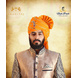 S H A H I T A J Traditional Rajasthani Wedding Barati Aamras Cotton Lehariya Jodhpuri & Rajputi Pagdi Safa or Turban with Brooch for Kids and Adults (CT173)-ST253_19andHalf-sm