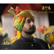 S H A H I T A J Traditional Rajasthani Wedding Barati Multi-Colored Shaded Cotton Jodhpuri & Rajputi Pagdi Safa or Turban with Pachewadi for Kids and Adults (CT178)-18-3-sm