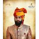 S H A H I T A J Traditional Rajasthani Wedding Barati Cotton Multi-Colored Jodhpuri & Rajputi Pagdi Safa or Turban with Brooch for Kids and Adults (CT180)-18-3-sm