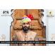 S H A H I T A J Traditional Rajasthani Wedding Barati Cotton Multi-Colored Lehariya Jodhpuri & Rajputi Pagdi Safa or Turban for Kids and Adults (CT182)-ST262_18andHalf-sm