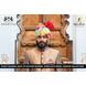 S H A H I T A J Traditional Rajasthani Wedding Barati Cotton Multi-Colored Lehariya Jodhpuri & Rajputi Pagdi Safa or Turban with Brooch for Kids and Adults (CT183)-ST263_21-sm