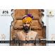 S H A H I T A J Traditional Rajasthani Wedding Barati Bandhej Multi-Colored Cotton Jodhpuri & Rajputi Pagdi Safa or Turban with Brooch for Kids and Adults (CT184)-ST264_19andHalf-sm