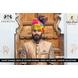 S H A H I T A J Traditional Rajasthani Wedding Barati Multi-Colored Cotton Jodhpuri & Rajputi Pagdi Safa or Turban with Brooch for Kids and Adults (CT185)-ST265_18andHalf-sm