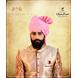 S H A H I T A J Traditional Rajasthani Wedding Barati Zari Staight Line Yellow Cotton Jodhpuri & Rajputi Pagdi Safa or Turban Multi-Colored for Kids and Adults (CT189)-ST269_23andHalf-sm