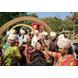 S H A H I T A J Traditional Rajasthani Wedding Barati Aztec Print Chanderi Silk Multi-Colored Udaipuri Pagdi Safa or Turban for Kids and Adults (CT204)-ST284_20-sm