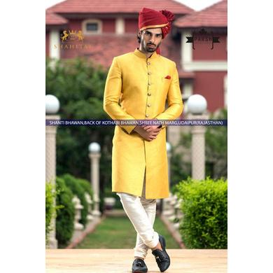 S H A H I T A J Traditional Rajasthani Wedding Barati Plain Chanderi Silk Maroon Udaipuri Pagdi Safa or Turban for Kids and Adults (CT214)-ST294_19andHalf