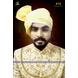 S H A H I T A J Traditional Rajasthani Wedding Barati Plain Chanderi Silk Aamras Udaipuri Pagdi Safa or Turban for Kids and Adults (CT227)-ST307_18andHalf-sm