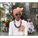 S H A H I T A J Traditional Rajasthani Wedding Barati Chanderi Peach Udaipuri Silk Designer Pagdi Safa or Turban for Kids and Adults (CT222)-ST302_22andHalf-sm