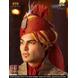 S H A H I T A J Traditional Rajasthani Wedding Multi-Colored Cotton Kotadoriya Jodhpuri & Rajputi Pagdi Safa or Turban for Groom or Dulha (CT235)-21-3-sm