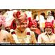S H A H I T A J Traditional Rajasthani Wedding Jodhpuri Strawberry Silk Pagdi Safa or Turban for Groom or Dulha (CT252)-ST332_23andHalf-sm