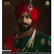 S H A H I T A J Traditional Rajasthani Wedding Red Cotton Udaipuri Pagdi Safa or Turban for Groom or Dulha (CT269)-ST349_22andHalf-sm