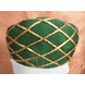 S H A H I T A J Traditional Rajasthani Green Color Faux Silk Marwadi Munshi Pagdi Safa or Turban for Kids and Adults (RT321)-ST481_21andHalf-sm