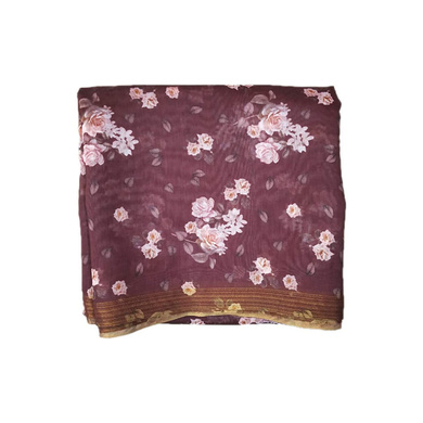 S H A H I T A J Traditional Rajasthani Floral Faux Silk Maroon Barati/Groom/Social Occasions Turban Safa Pagdi Pheta Cloth for Kids and Adults (CT324)-ST484