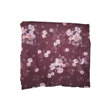 S H A H I T A J Traditional Rajasthani Floral Faux Silk Maroon Barati/Groom/Social Occasions Turban Safa Pagdi Pheta Cloth for Kids and Adults (CT324)-Free Size-1