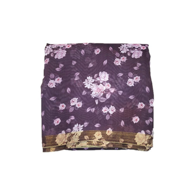 S H A H I T A J Traditional Rajasthani Floral Faux Silk Purple Barati/Groom/Social Occasions Turban Safa Pagdi Pheta Cloth for Kids and Adults (CT325)-ST485
