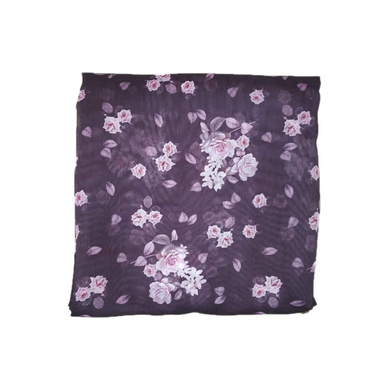 S H A H I T A J Traditional Rajasthani Floral Faux Silk Purple Barati/Groom/Social Occasions Turban Safa Pagdi Pheta Cloth for Kids and Adults (CT325)-Free Size-1