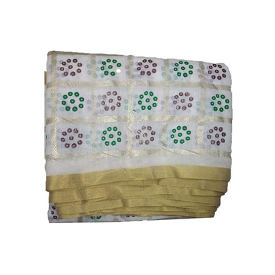 S H A H I T A J Traditional Rajasthani Gharchola Faux Silk White Barati/Groom/Social Occasions Turban Safa Pagdi Pheta Cloth for Kids and Adults (CT329)-ST489