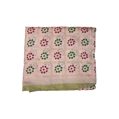 S H A H I T A J Traditional Rajasthani Gharchola Faux Silk Peach Barati/Groom/Social Occasions Turban Safa Pagdi Pheta Cloth for Kids and Adults (CT330)-ST490