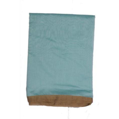 S H A H I T A J Traditional Rajasthani Faux Silk Blue Barati/Groom/Social Occasions Turban Safa Pagdi Pheta Cloth for Kids and Adults (CT344)-ST504