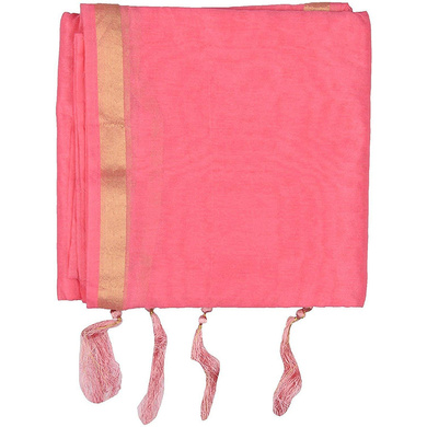 S H A H I T A J Traditional Rajasthani Faux Silk Pink Barati/Groom/Social Occasions Turban Safa Pagdi Pheta Cloth for Kids and Adults (CT349)-ST509