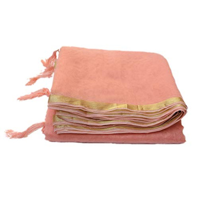 S H A H I T A J Traditional Rajasthani Faux Silk Peach Barati/Groom/Social Occasions Turban Safa Pagdi Pheta Cloth for Kids and Adults (CT354)-Free Size-2