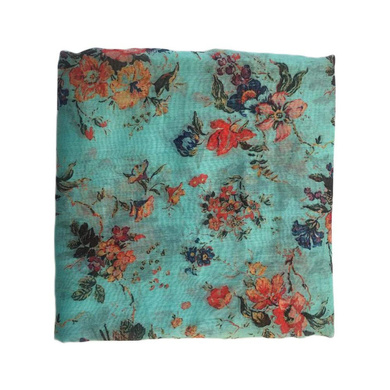 S H A H I T A J Traditional Rajasthani Floral Sea Green Barati/Groom/Social Occasions Turban Safa Pagdi Pheta Cloth for Kids and Adults (CT359)-ST519