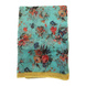 S H A H I T A J Traditional Rajasthani Floral Sea Green Barati/Groom/Social Occasions Turban Safa Pagdi Pheta Cloth for Kids and Adults (CT359)-Free Size-1-sm