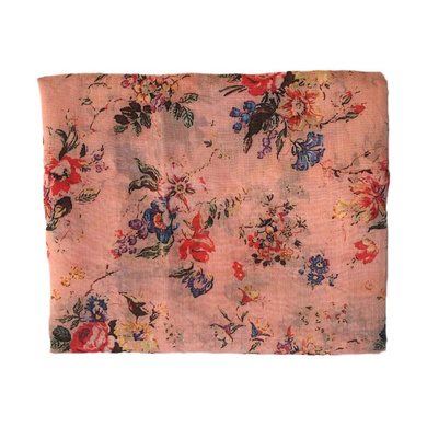 S H A H I T A J Traditional Rajasthani Floral Peach Barati/Groom/Social Occasions Turban Safa Pagdi Pheta Cloth for Kids and Adults (CT361)-ST521