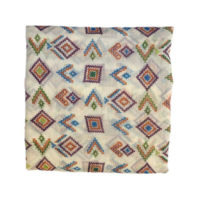 S H A H I T A J Traditional Rajasthani Aztec Print Faux Silk Barati/Groom/Social Occasions Turban Safa Pagdi Pheta Cloth for Kids and Adults (CT367)-ST527