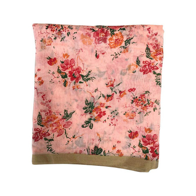 S H A H I T A J Traditional Rajasthani Floral Faux Silk Peach Barati/Groom/Social Occasions Turban Safa Pagdi Pheta Cloth for Kids and Adults (CT374)-ST534