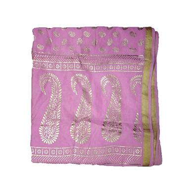 S H A H I T A J Traditional Rajasthani Boota Print Pink Barati/Groom/Social Occasions Turban Safa Pagdi Pheta Cloth for Kids and Adults (CT380)-ST540