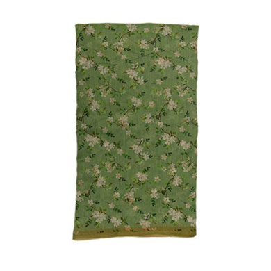 S H A H I T A J Traditional Rajasthani Floral Faux Silk Grey Barati/Groom/Social Occasions Turban Safa Pagdi Pheta Cloth for Kids and Adults (CT383)-Free Size-1