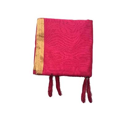 S H A H I T A J Traditional Rajasthani Faux Silk Rani or Magenta Barati/Groom/Social Occasions Turban Safa Pagdi Pheta Cloth for Kids and Adults (CT394)-ST554