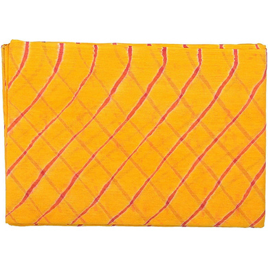 S H A H I T A J Traditional Rajasthani Cotton Yellow Barati/Groom/Social Occasions Turban Safa Pagdi Pheta Cloth for Kids and Adults (CT396)-ST556