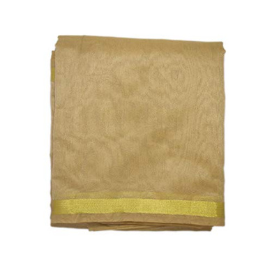 S H A H I T A J Traditional Rajasthani Faux Silk Golden Barati/Groom/Social Occasions Turban Safa Pagdi Pheta Cloth for Kids and Adults (CT399)-ST559