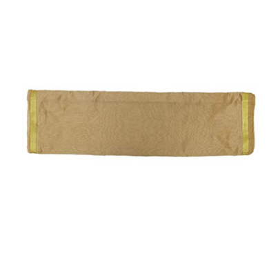 S H A H I T A J Traditional Rajasthani Faux Silk Golden Barati/Groom/Social Occasions Turban Safa Pagdi Pheta Cloth for Kids and Adults (CT399)-Free Size-2
