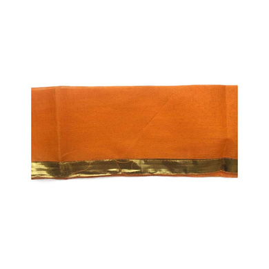 S H A H I T A J Traditional Rajasthani Unisex Cotton Orange Kesariya Uparna/Stole for Social Occasions/Bhagwan or God's Idols (DS415) (Pack of 6 Pieces)-Free Size-1