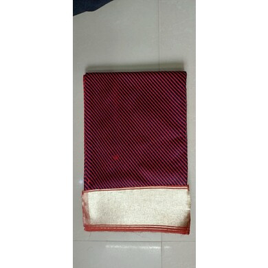 S H A H I T A J Traditional Rajasthani Red Cotton Lehariya Barati/Groom/Social Occasions Pagdi or Turban Cloth for Kids and Adults (MT456)-ST29