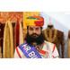 S H A H I T A J Traditional Rajasthani Cotton Multi-Colored Jodhpuri Gol Pheta Pagdi Safa or Turban for Kids and Adults (RT458)-ST22_21andHalf-sm