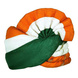 S H A H I T A J Cotton Tricolor or Tiranga Pagdi Safa or Turban for Kids and Adults (RT459)-ST21_21andHalf-sm