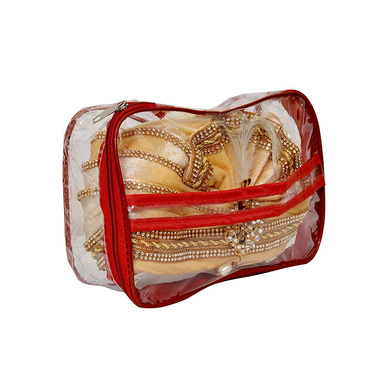 S H A H I T A J Traditional Rajasthani Readymade Velvet Velcro Adjustable Multi-Colored Foldable Pagdi Safa or Turban for Groom or Dulha (RT479)-21-3