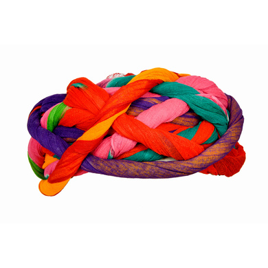 S H A H I T A J Traditional Rajasthani Cotton Multi-Colored Vantma or Rope Pagdi Safa or Turban for Kids and Adults (RT497)-18-4