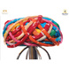 S H A H I T A J Traditional Rajasthani Cotton Multi-Colored Vantma or Rope Pagdi Safa or Turban for Kids and Adults (RT498)-ST618_18andHalf-sm