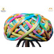 S H A H I T A J Traditional Rajasthani Cotton Multi-Colored Vantma or Rope Pagdi Safa or Turban for Kids and Adults (RT499)-ST619_23andHalf-sm
