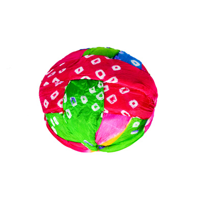 S H A H I T A J Traditional Rajasthani Jaipuri Faux Silk Multi-Colored Gol or Foam Pagdi Safa or Turban for Kids and Adults (RT511)-18-4