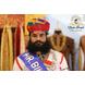 S H A H I T A J Traditional Rajasthani Cotton Multi-Colored Jodhpuri Gol Pheta Pagdi Safa or Turban for Kids and Adults (RT519)-ST639_18andHalf-sm
