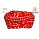 S H A H I T A J Traditional Rajasthani Cotton Red Bandhej Jodhpuri Gol Pheta Pagdi Safa or Turban for Kids and Adults (RT521)-ST641_19andHalf-sm