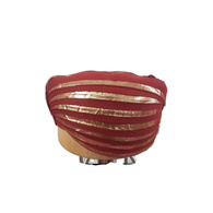 S H A H I T A J Traditional Rajasthani Cotton Mandil Mewadi Pagdi or Turban Multi-Colored for Kids and Adults (MT120)